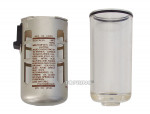 Poly. bowl with guard for 300 lubricator