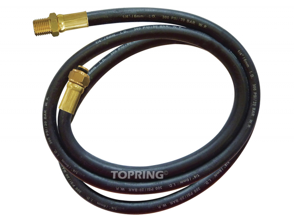 Replacement hose 2 m for 63.691/63.692