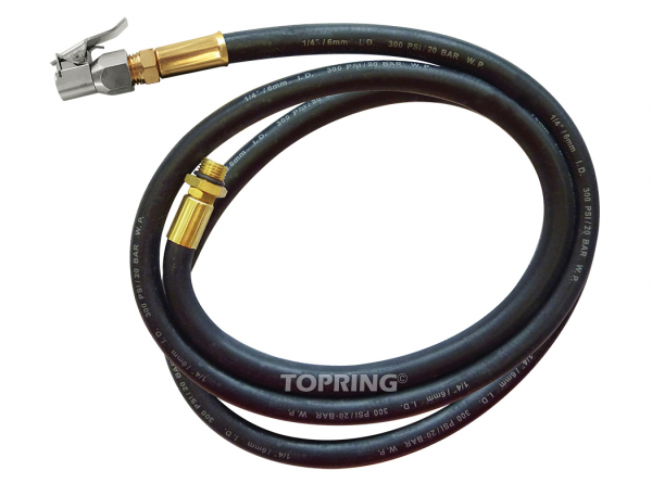 Replacement hose 2 m for 63.661/63.683