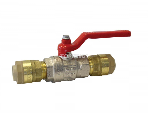 Standard ball valve 28 mm quickline