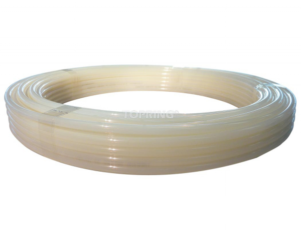 Tubing nylon 6 mm x 30m translucent white