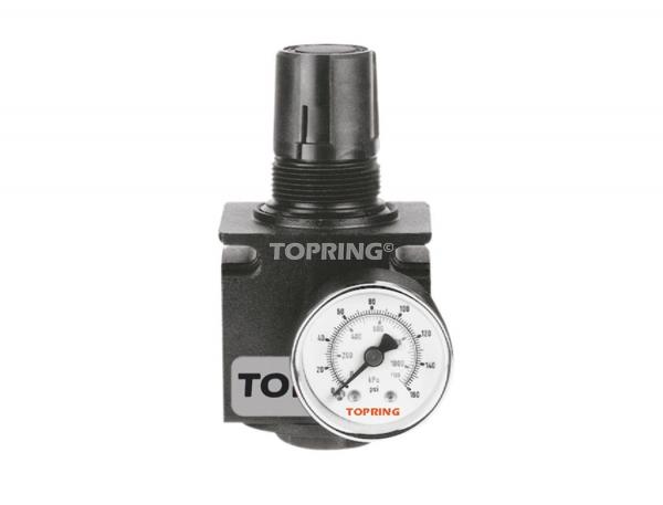 Régulateur 1/2 (manomètre inclus) medium (0-125 psi) modulair