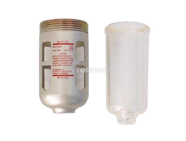 Bol poly. avec protecteur pour lubrificateur airflo 200