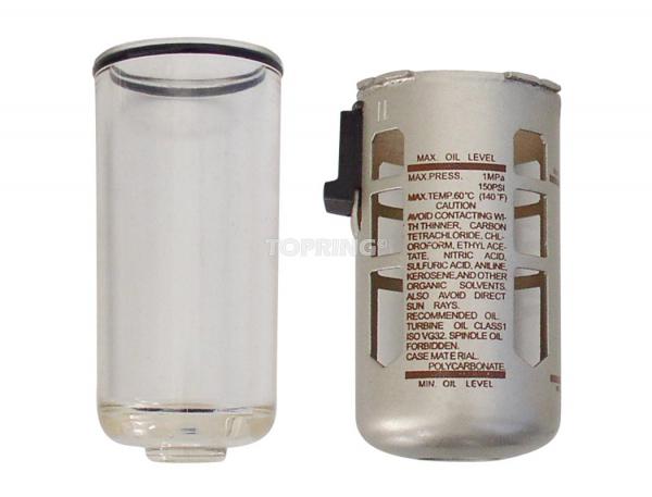 Bol poly. avec protecteur pour lubrificateur airflo 400