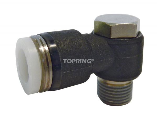In-line 3 ways change valve 3/8 x 3/8 topfit