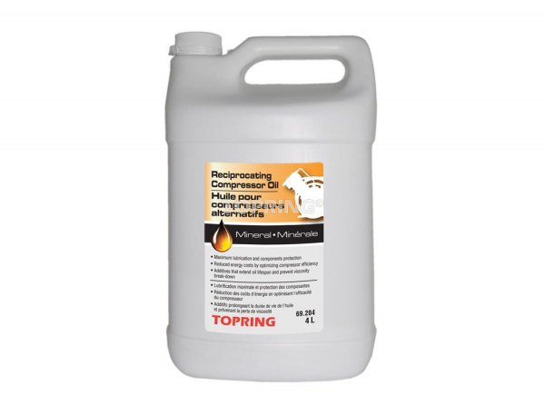 Reciprocating compressor oil (4l)