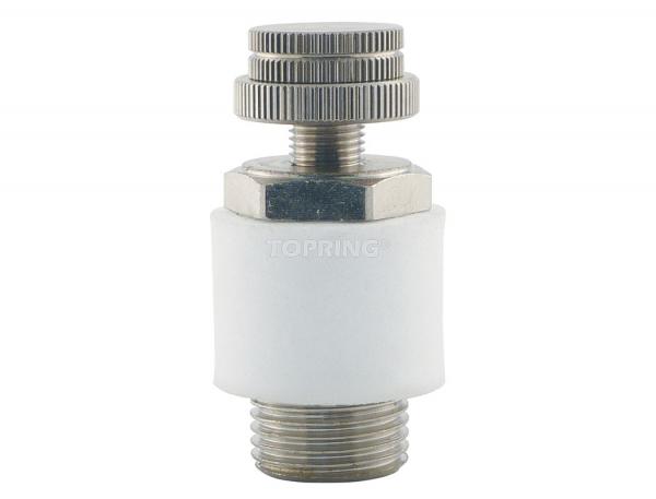 Speed control muffler 3/8 (m) npt
