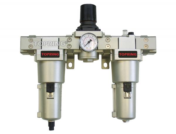 "Airflo 500 filter + regulator + lubricator 1"" semi-auto mb"