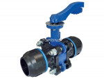 Ball valve 63 mm pps