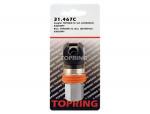 Coupler topquik sc safety (ultraflo) (automatic) 3/8 (f) npt