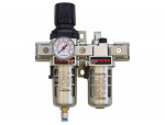 Airflo 300 filter/regulator+lubricator 1/4 semi-auto