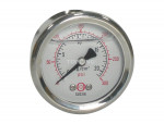 "Liquid gauge 1-1/2"" – 1/8bspt cbm 0-300 stainless steel"