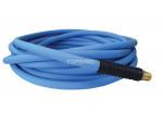 Hose technopolymer 3/8 x 25' x 1/4 (m) npt (blue) easyflex premium