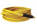 Hose technopolymer 1/2 x 25' x 1/2 (m) npt (yellow) easyflex premium