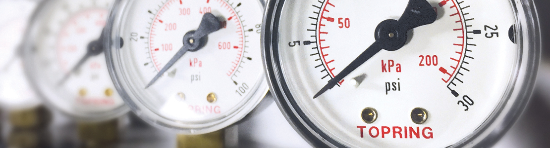 Compressed air system and excessive pressure loss