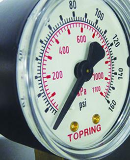 Perte de pression excessive air comprimé