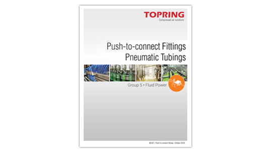 Push-to-connect fittings and pneumatic tubing brochure